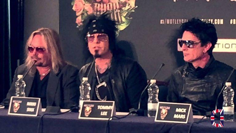 Motely Crue Press Conference