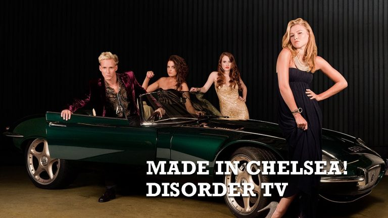 Made in Chelsea – BTS Film of photo shoot for Disorder TV