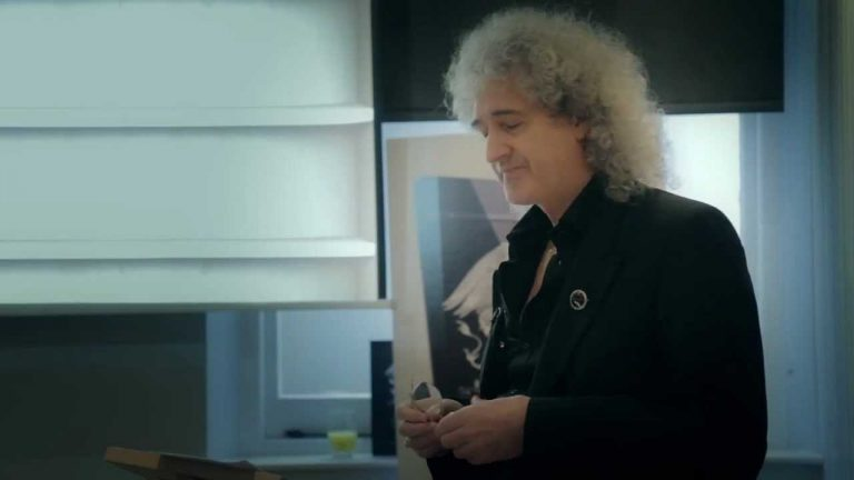 """""""40 Years of Queen"""" ebook launch with Brian May."""