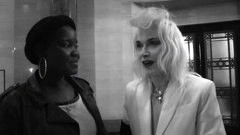 Pam Hogg interview at London Fashion Week, SS14