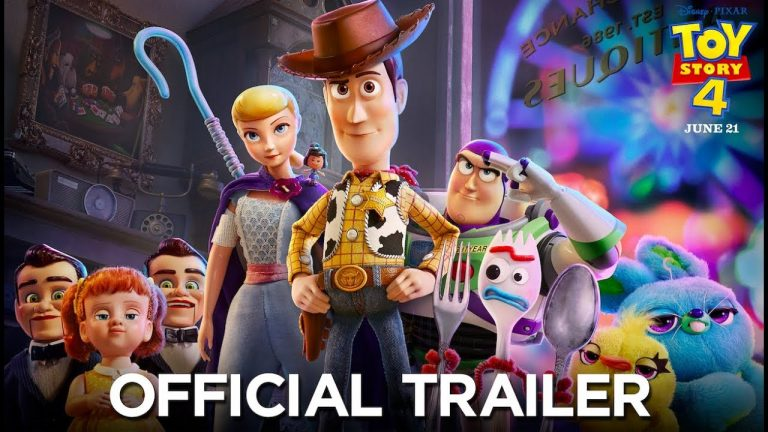 Woody's Back! Toy Story 4