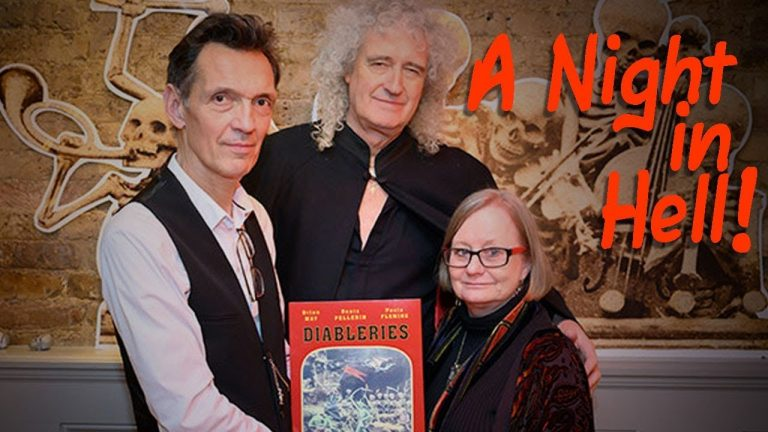 Interview with Brian May, Denis Pellerin & Paula Fleming